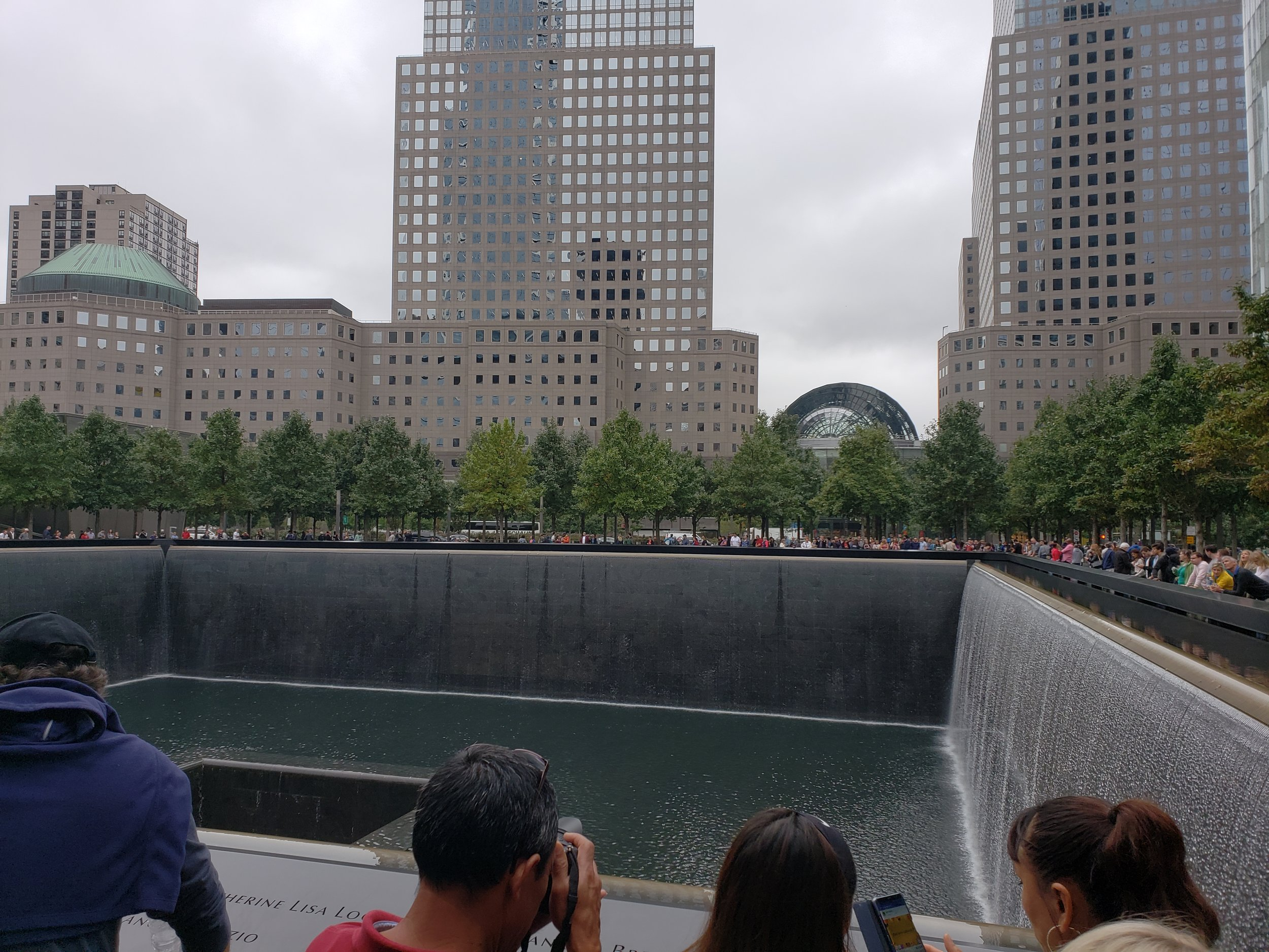 The sight where The Twin Towers once stood.