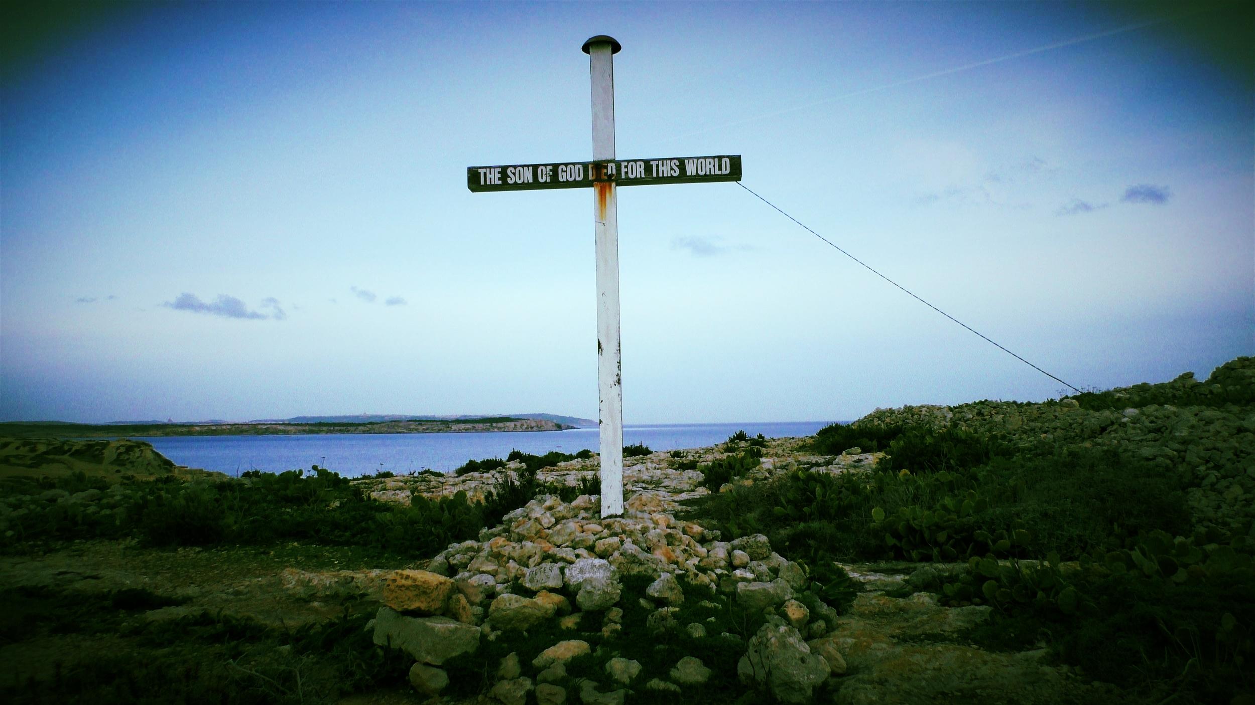 cross on St Paul island.JPG
