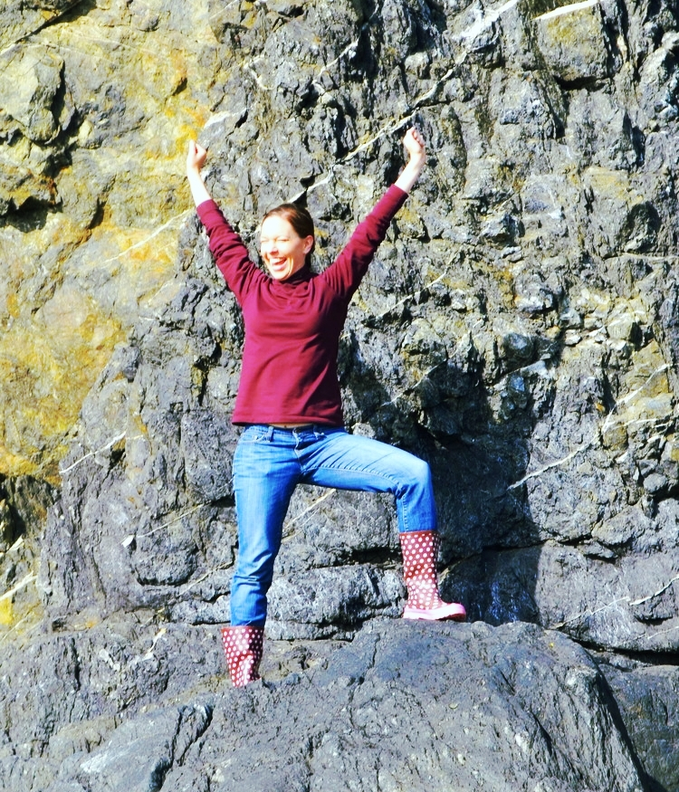Allison on rock--joy!.jpeg