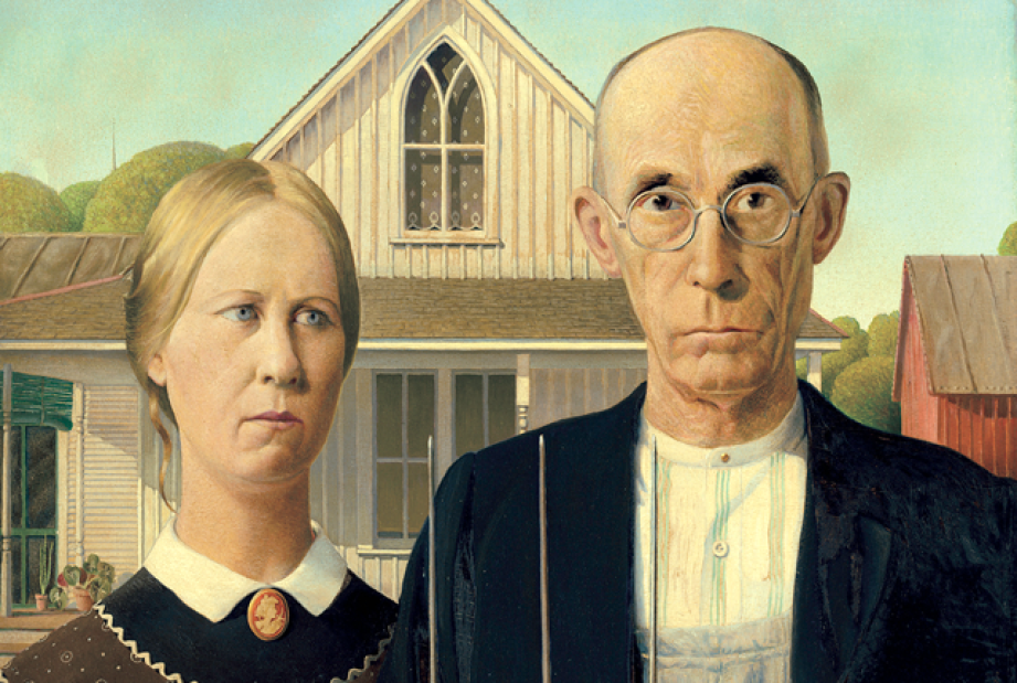 American Gothic painting-Farmer and wife.png