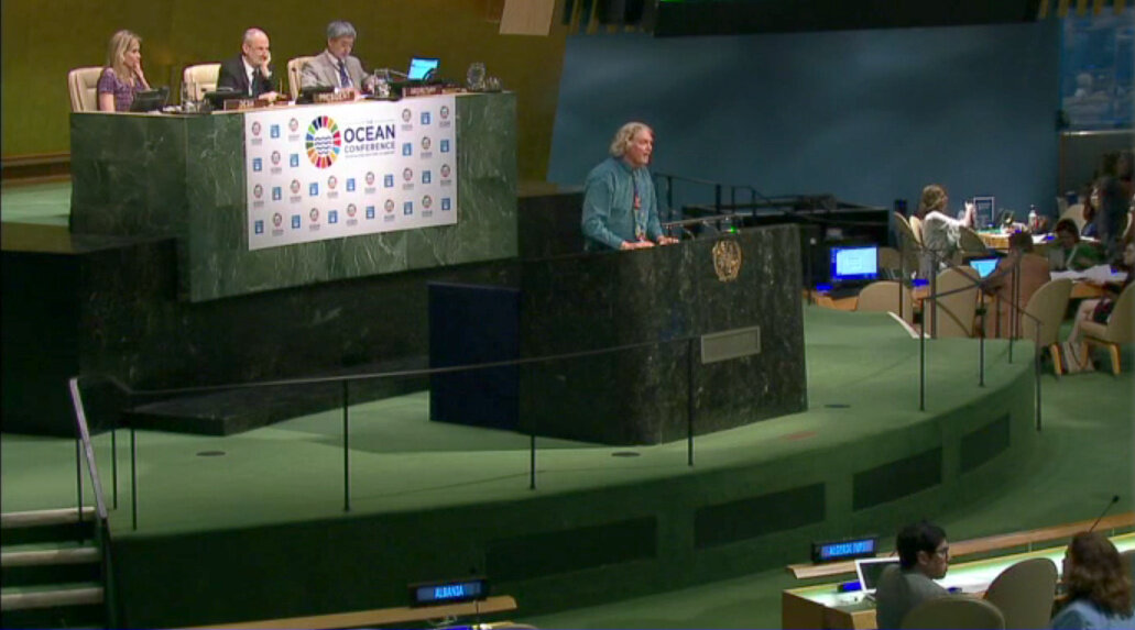Dr Robert Sluka, Lead Marine Scientist, spoke  at the United Nations Ocean Conference about the work of A Rocha and the integration of Christian faith and marine conservation.