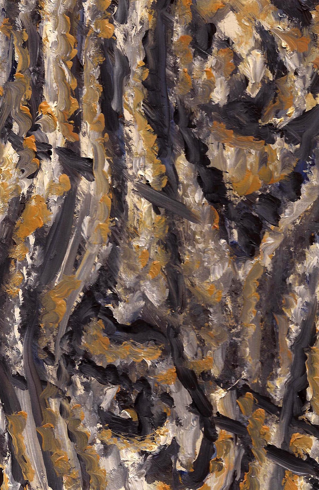 Oil on Paperboard.