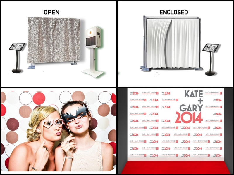 PHOTO BOOTH - Additional photobooth available to any package.Rates vary with models and duration from $600-$1800.