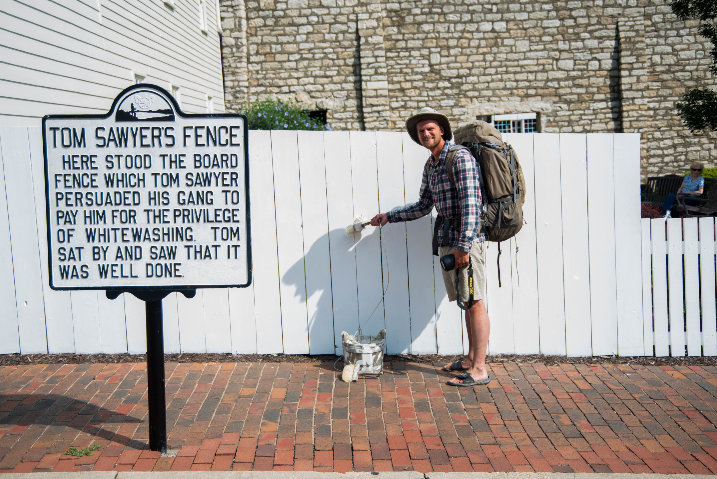 Stopping for a spell in Hannibal, Missouri, the hometown of Mark Twain, was one of the most memorable times of our trip. A chance to stretch ones legs in a river town rich in history was something Will and I both lept at.