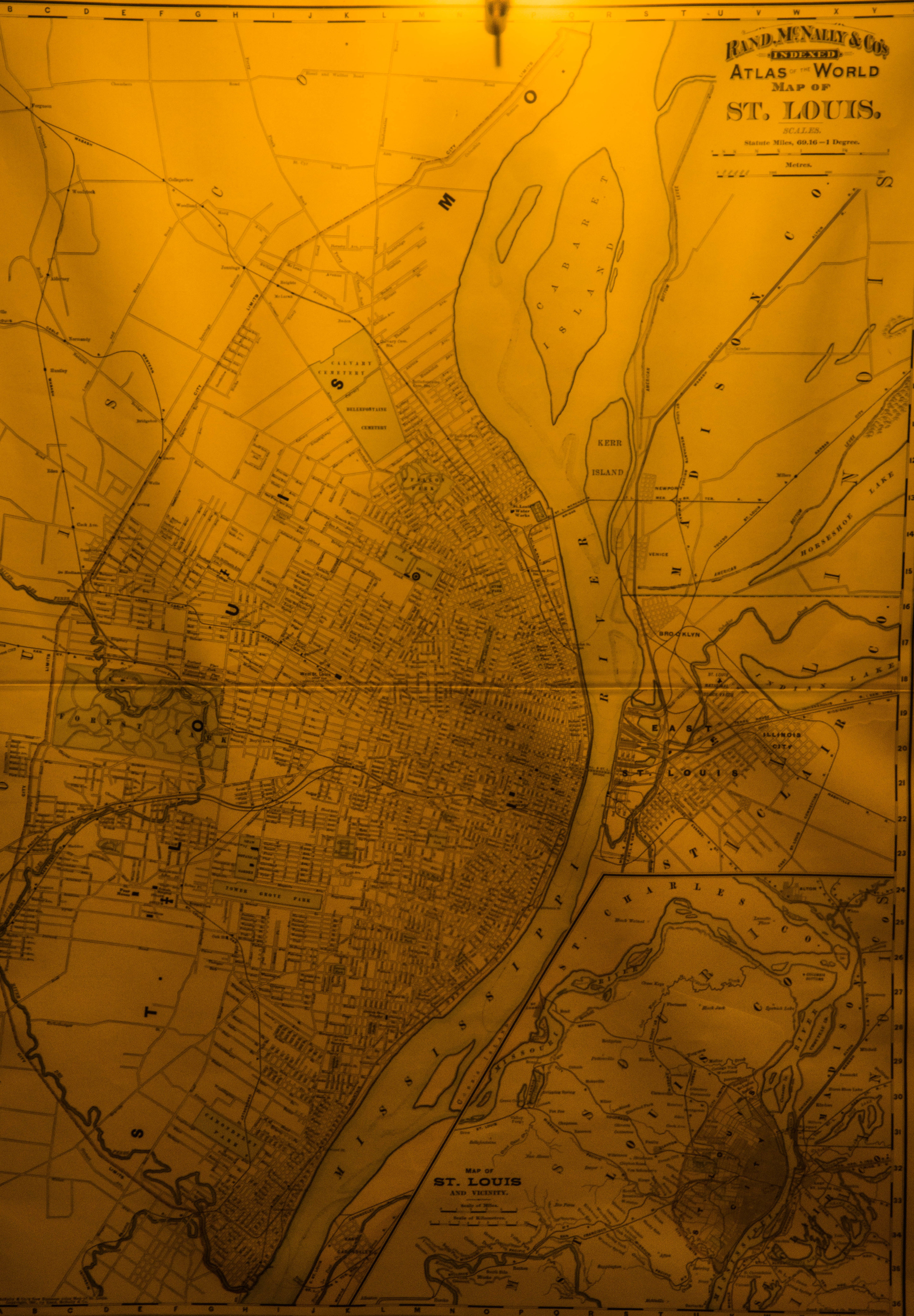 I have a huge interest in maps of all kinds, especially maps which are older and have a interesting history behind them.