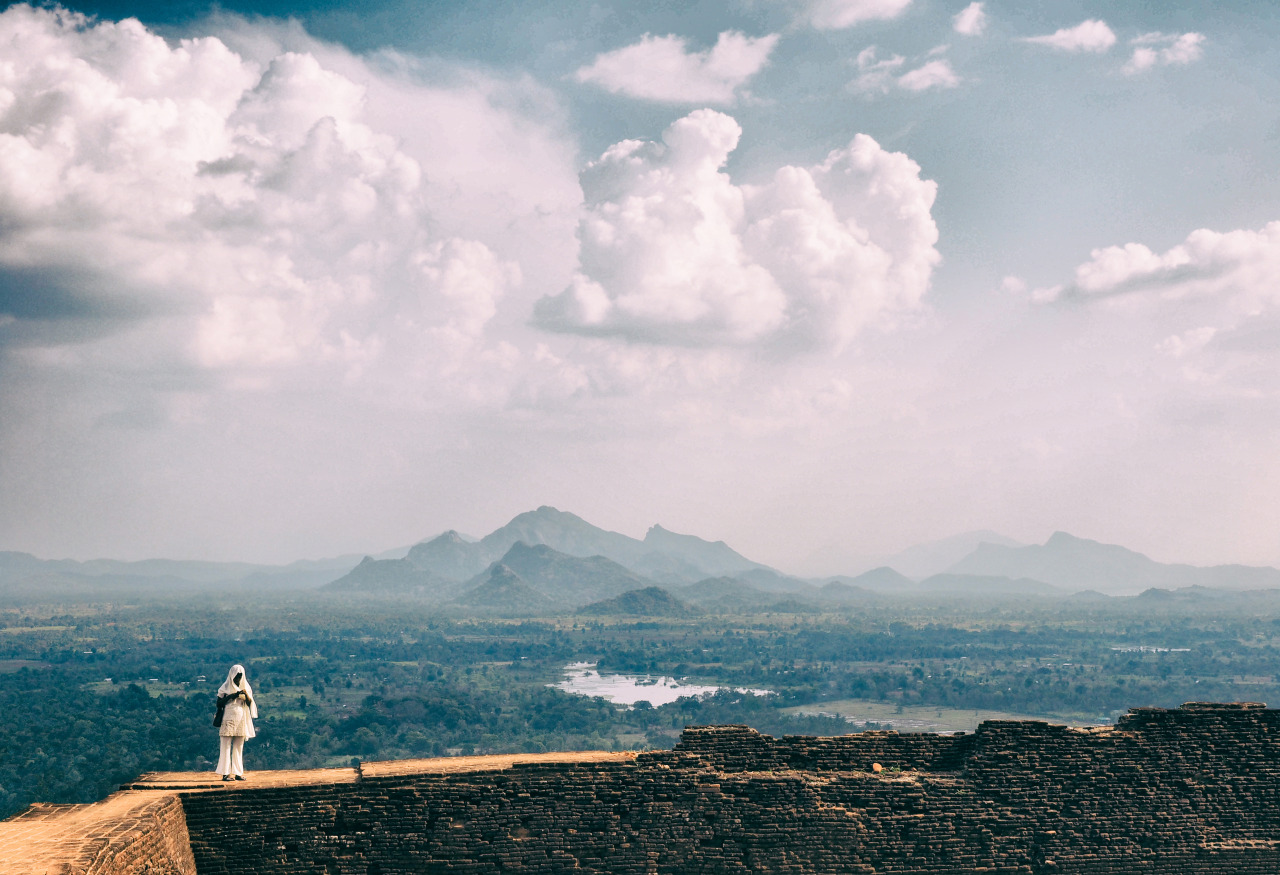 Second capture of   Sigiriya   lady from Lion's Rock,   Sri Lanka  .      Olympus AU   OM-D E-M1 + 12-40mm f/2.8