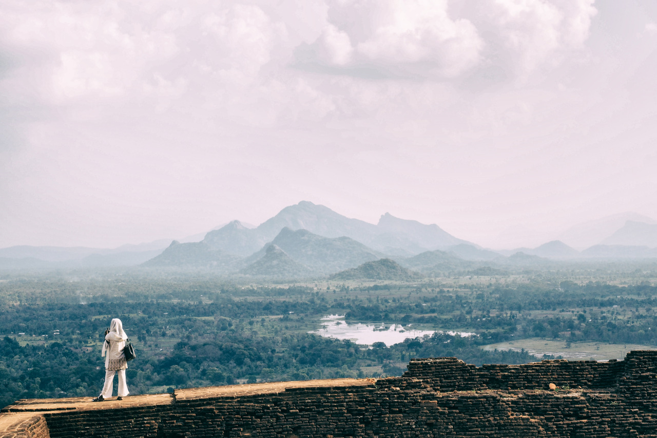 One of my first photos captured at Sigiriya, the Lion Rock.   I don't really have a story behind this image but I think it speaks for itself.With a view like this to photograph one doesn't need words.     Olympus OM-D E-M1 + 12-40mm f2.8