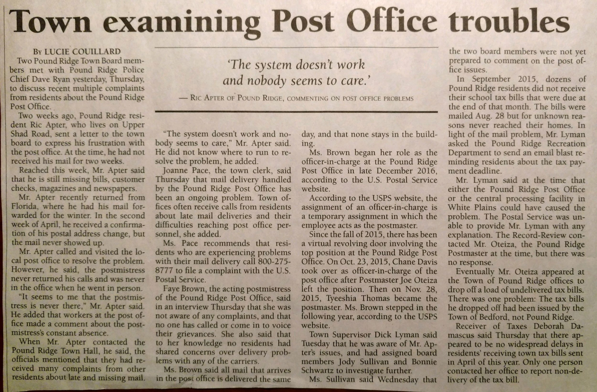 Councilwomen Schwartz & Sullivan tackle post office problems.jpg