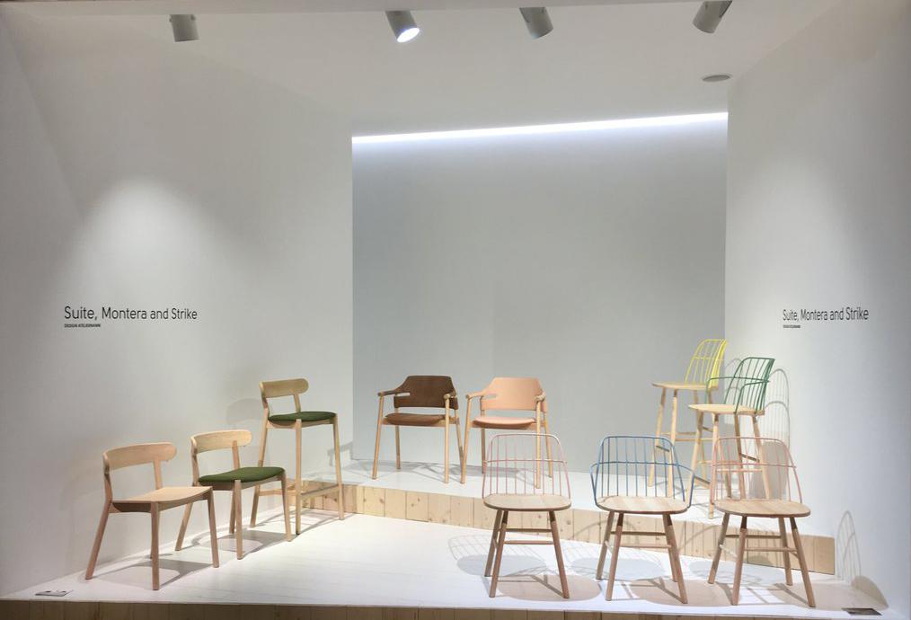 Montera, Strike & Suite Chair