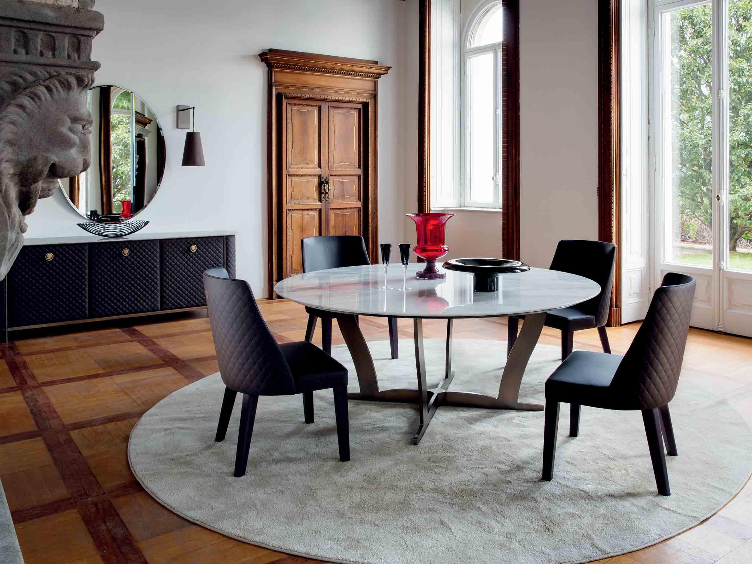 Bogart Dining Table + Ingrid Chair + Penelope Side Board