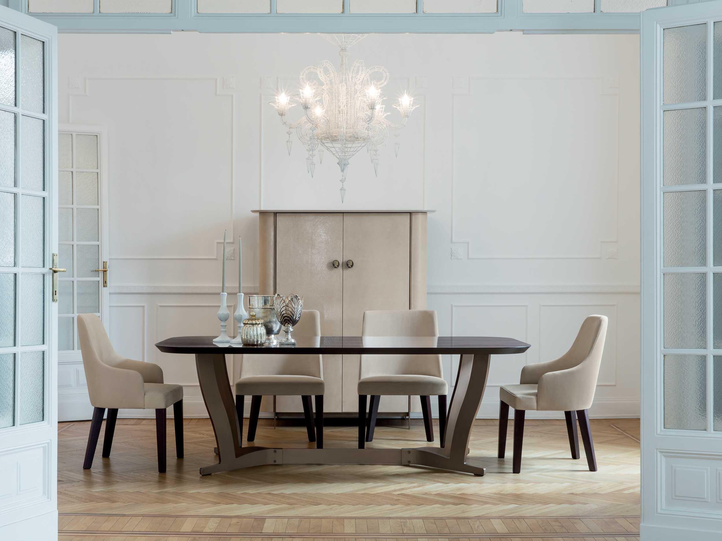 Humphrey Dining Table + Allen Chair + Alexander Side Board