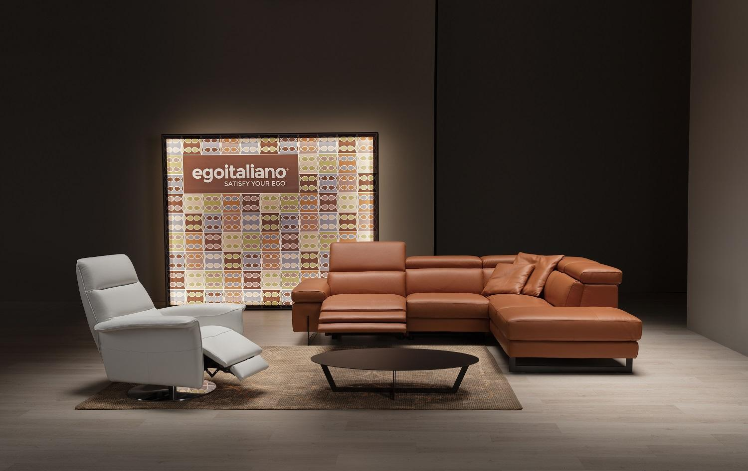 Valuable Leather - Ego Italiano is known for its special treatment of leather and its implementation on the furniture