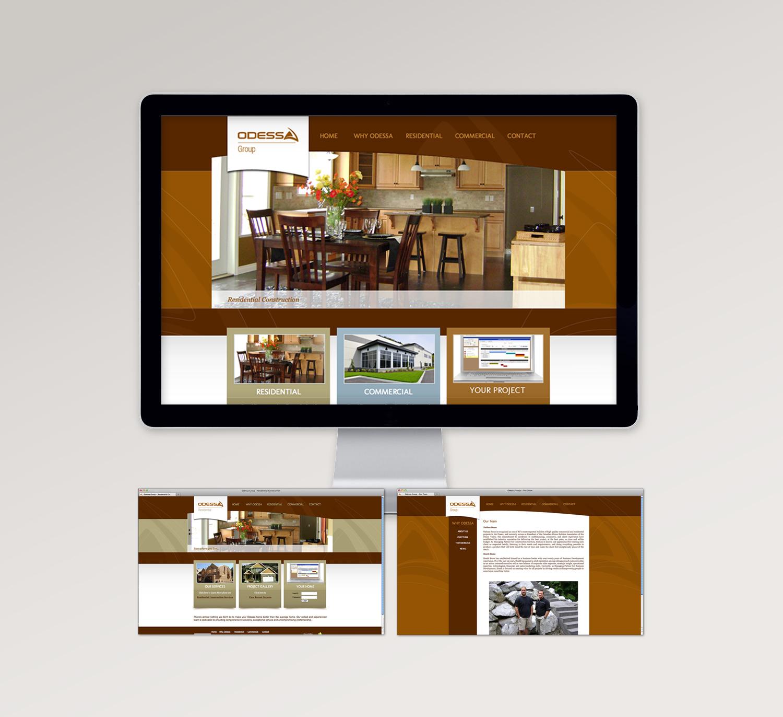 <strong>Odessa Group</strong> website design