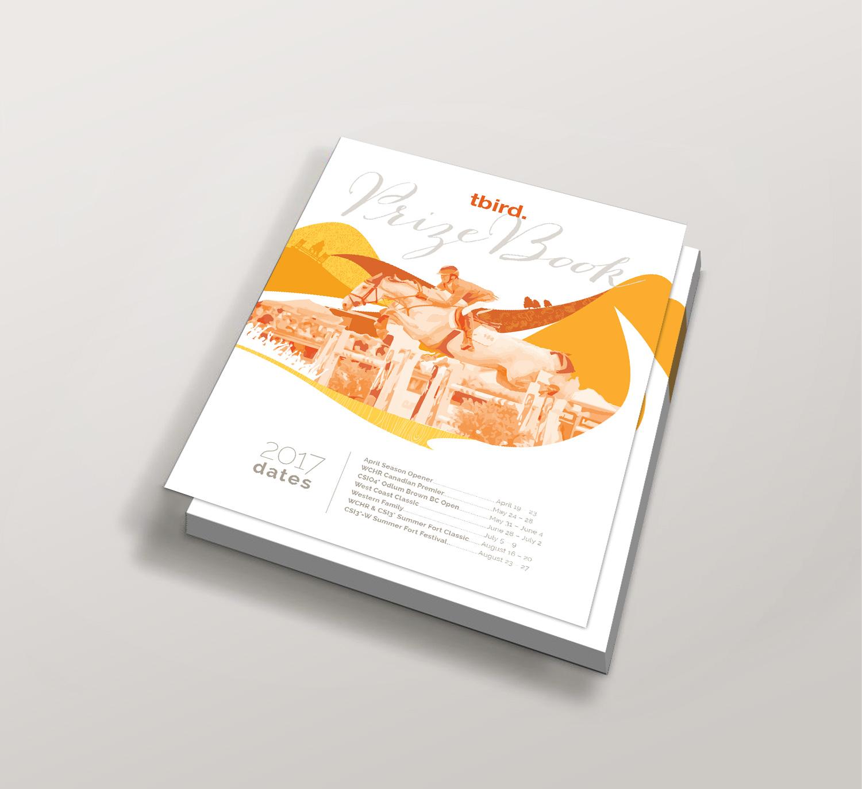 <strong>Thunderbird Showpark</strong> schedule cover design