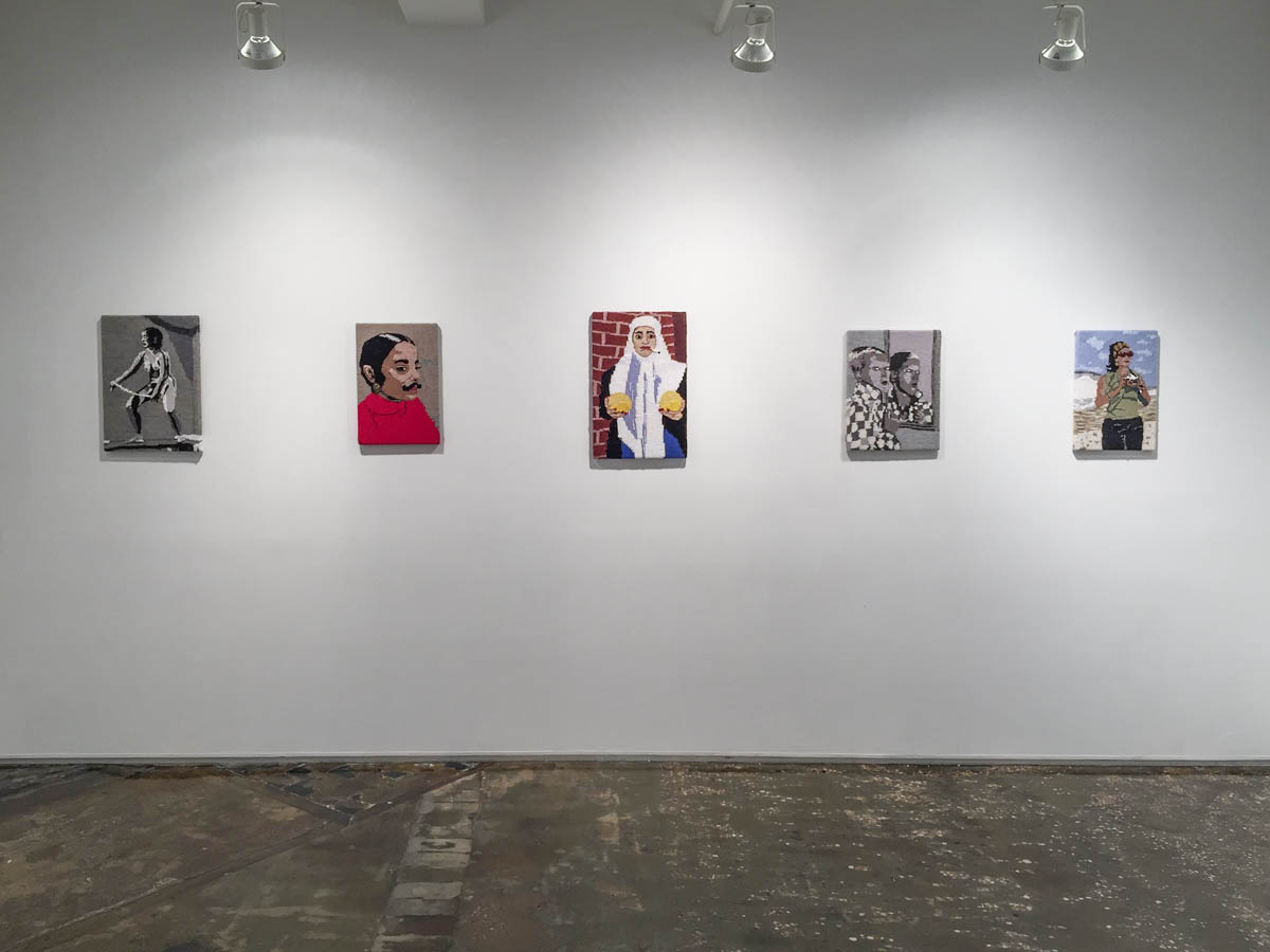 Feminist Fan, installation view, A.I.R. Gallery, New York, 2016.
