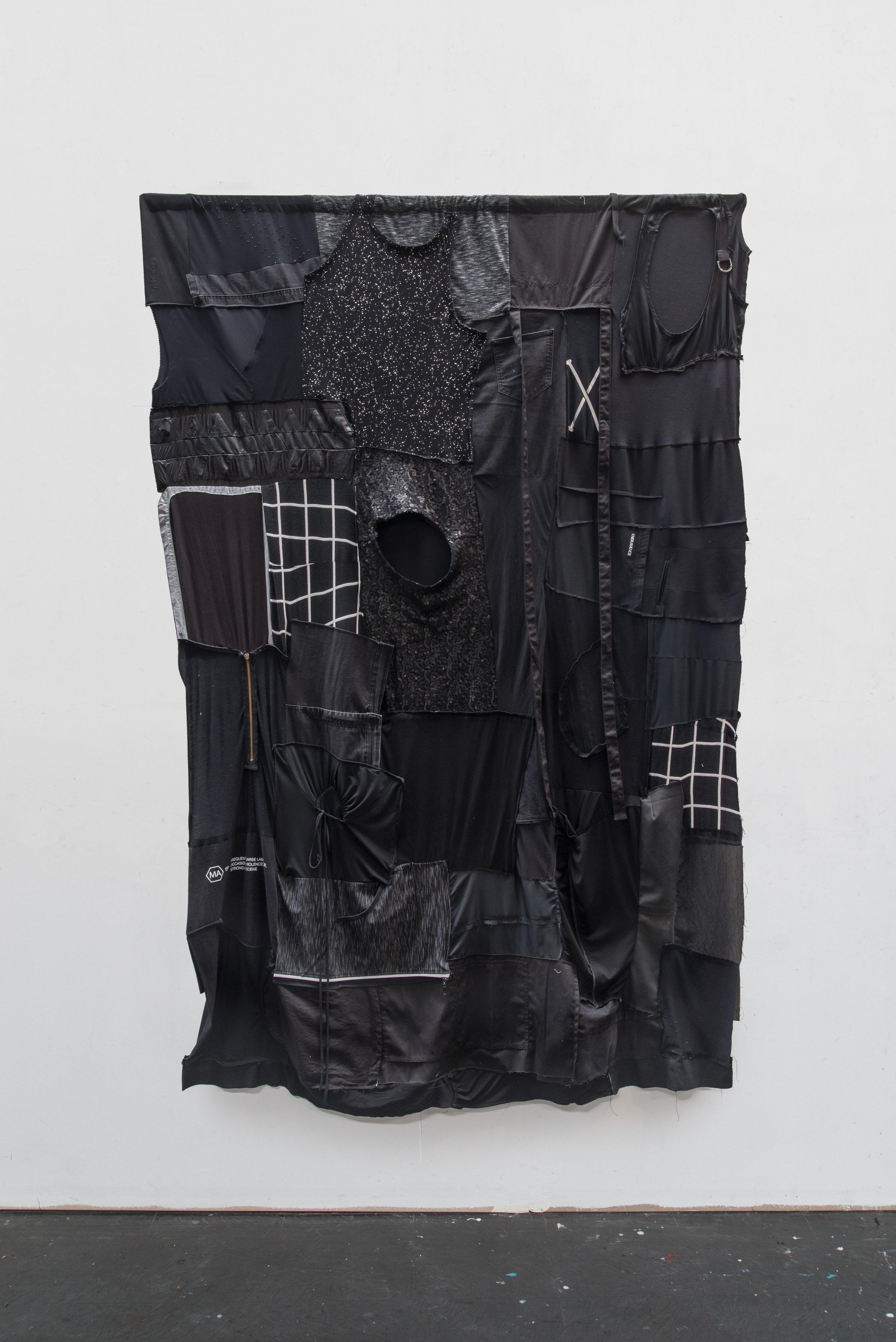 Kate Just, Clothes Portraits (Self Portrait), 2018