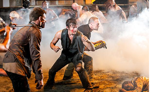 'The Walking Dead': Glen Mazzara explains that shocking last scene, the return of [SPOILER] and all things Dixon