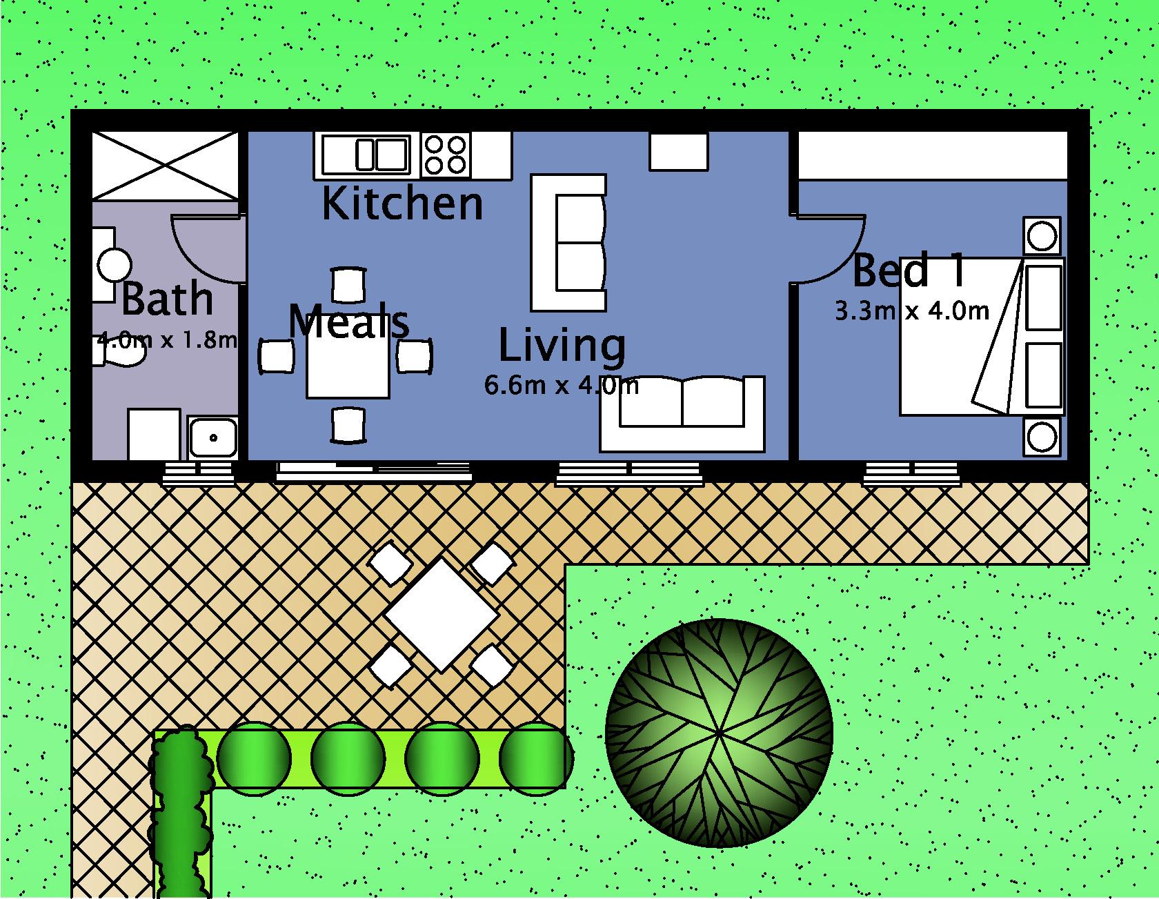 Granny flat home idea