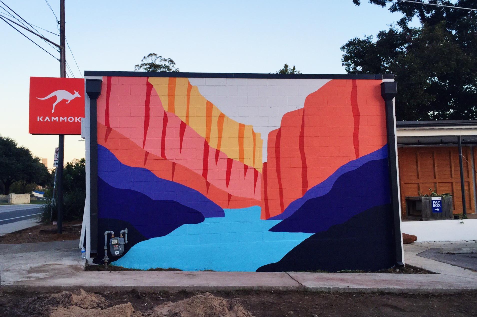 Austin Kammok Mural