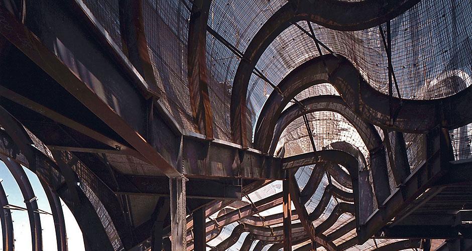 Figure 13.  Gehry Partners, E.M.P., Under construction.