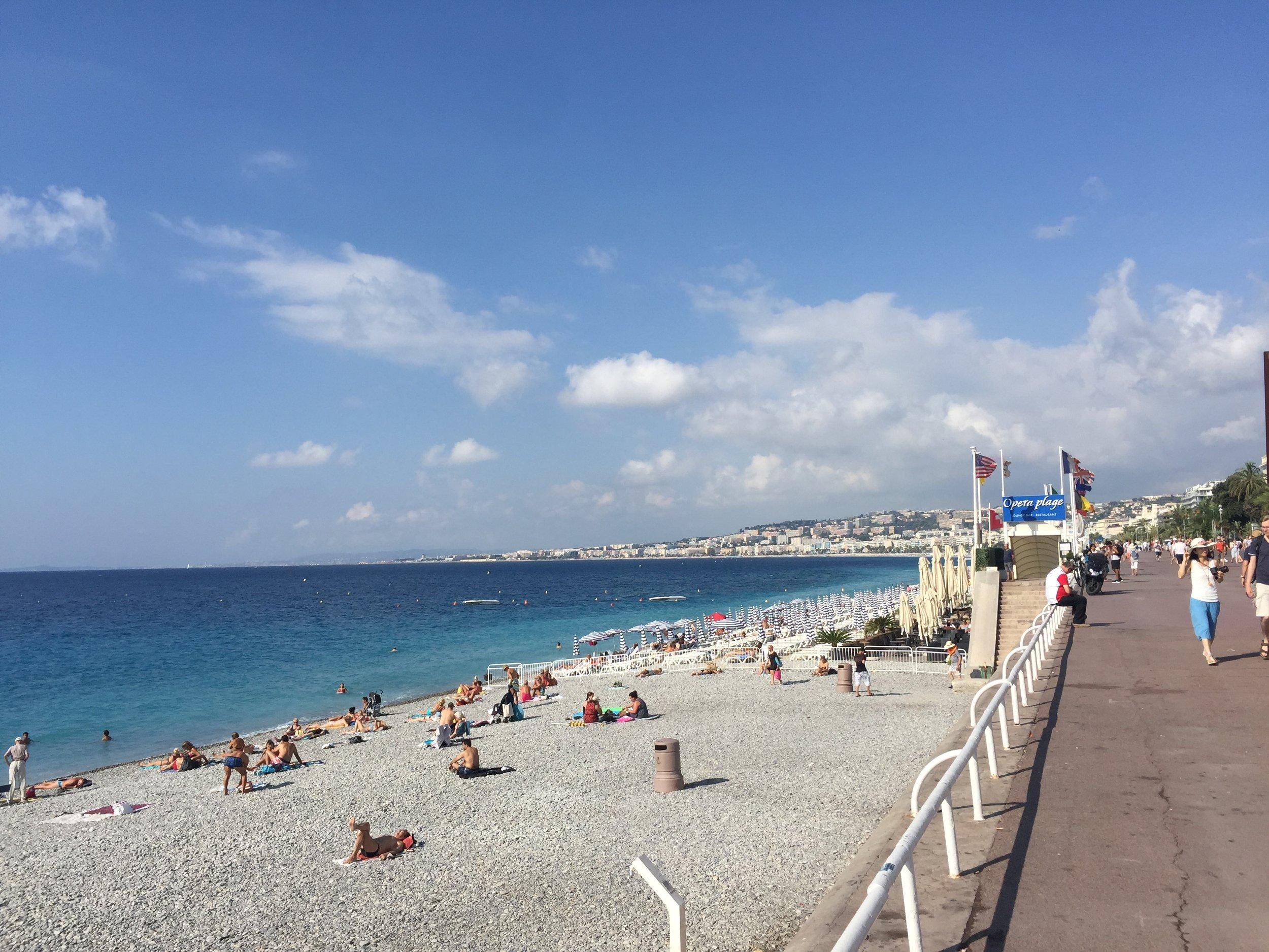 Plage De Nice Promenade Des Anglais - Boardwalkin' it