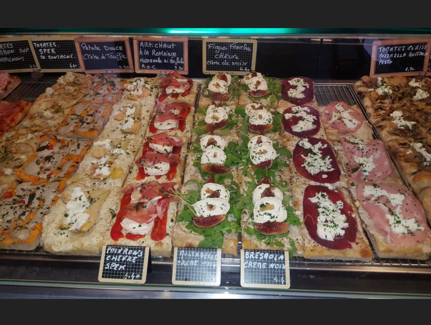 Al Taglio - pizza gourmet á la part