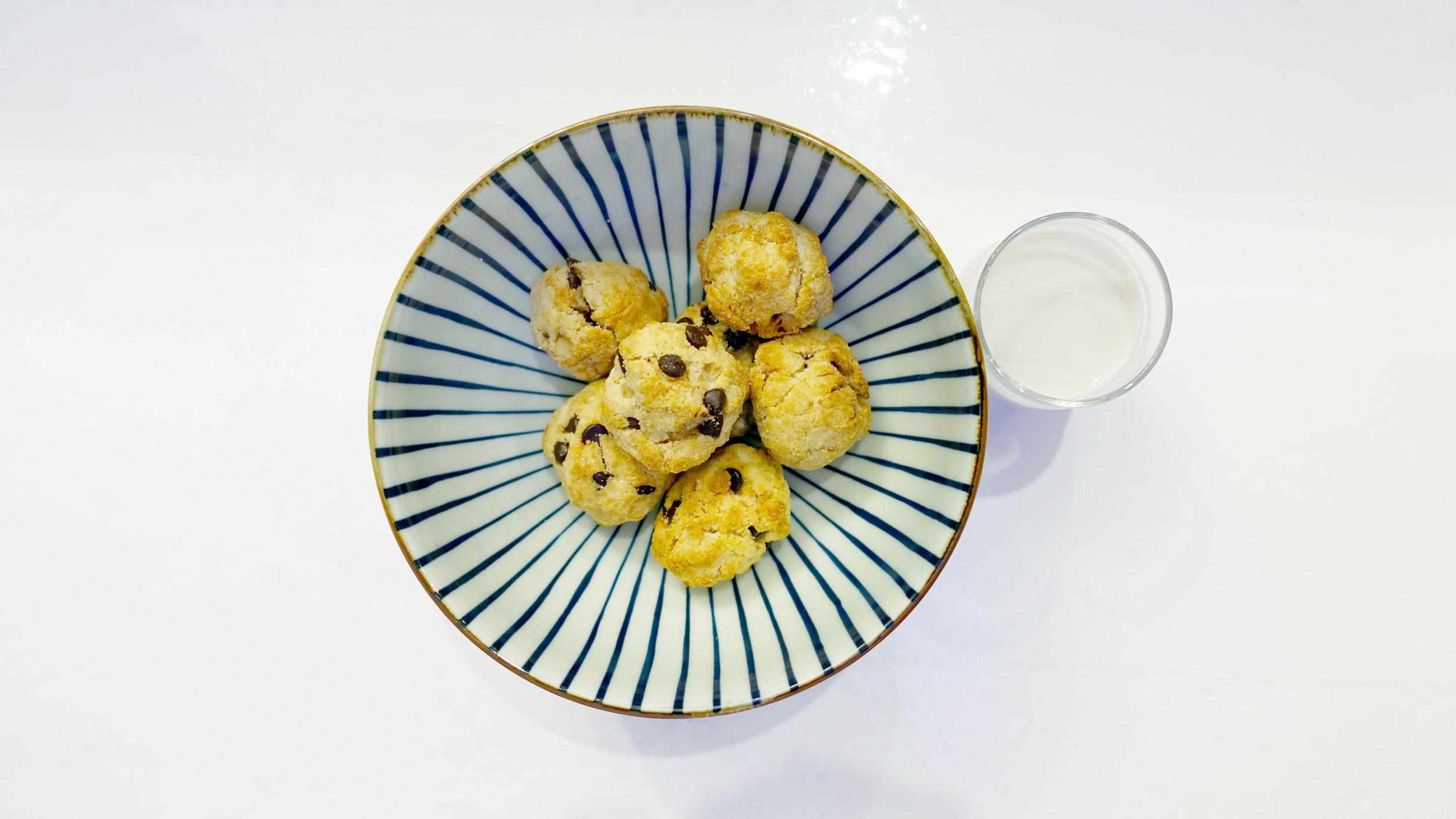Chocolate Keto scones