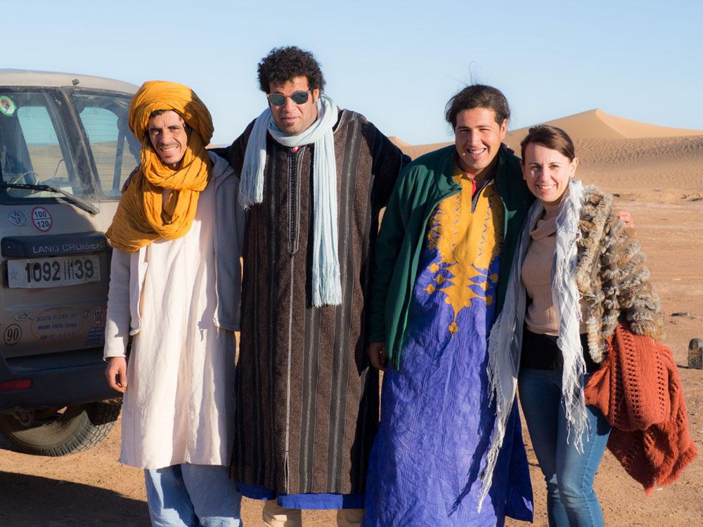 Camp Adounia .. Hamid, Abdul, Mohammed, Nicole Snow