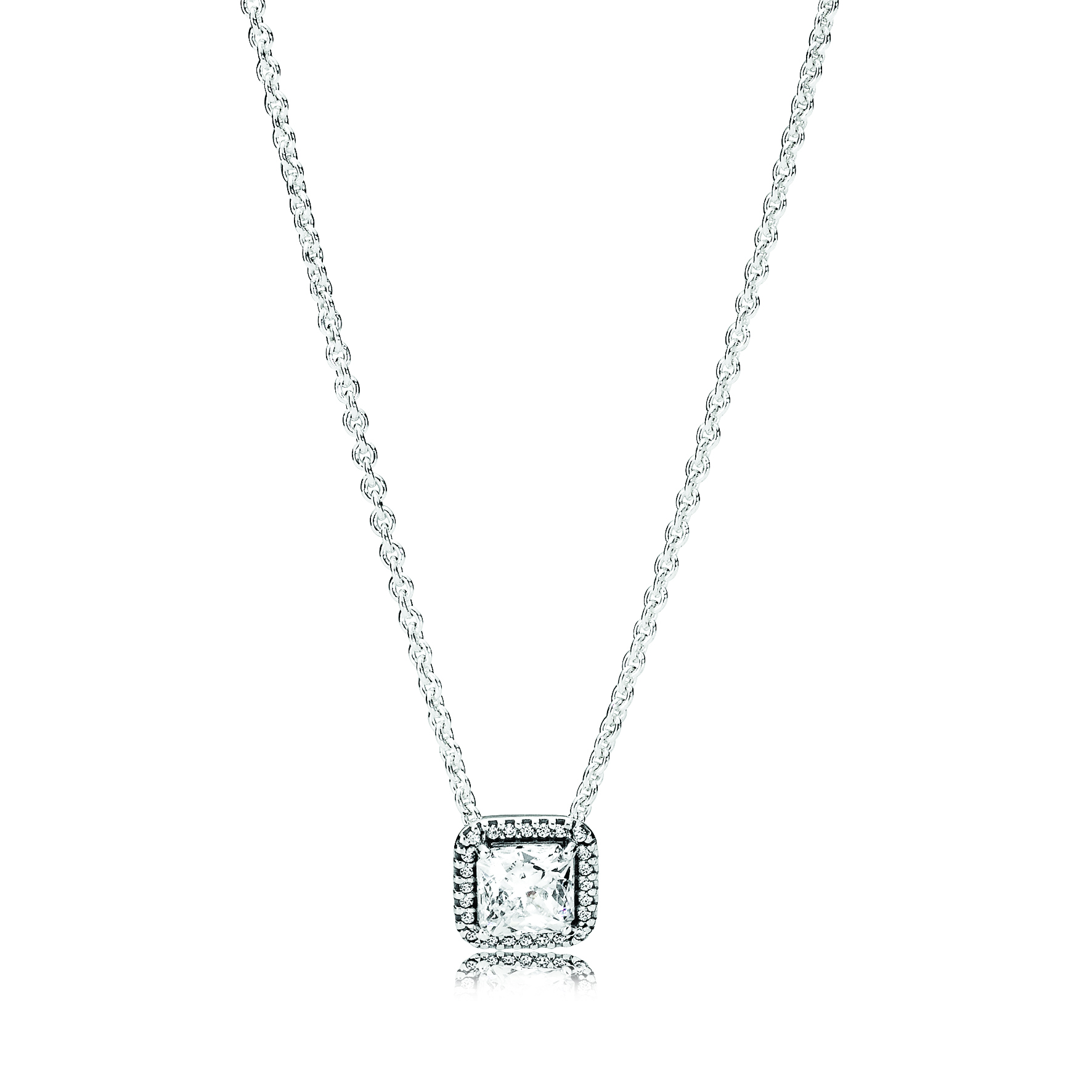 PANDORA Sterling Silver and Cubic Zirconia Timeless Elegance Necklace