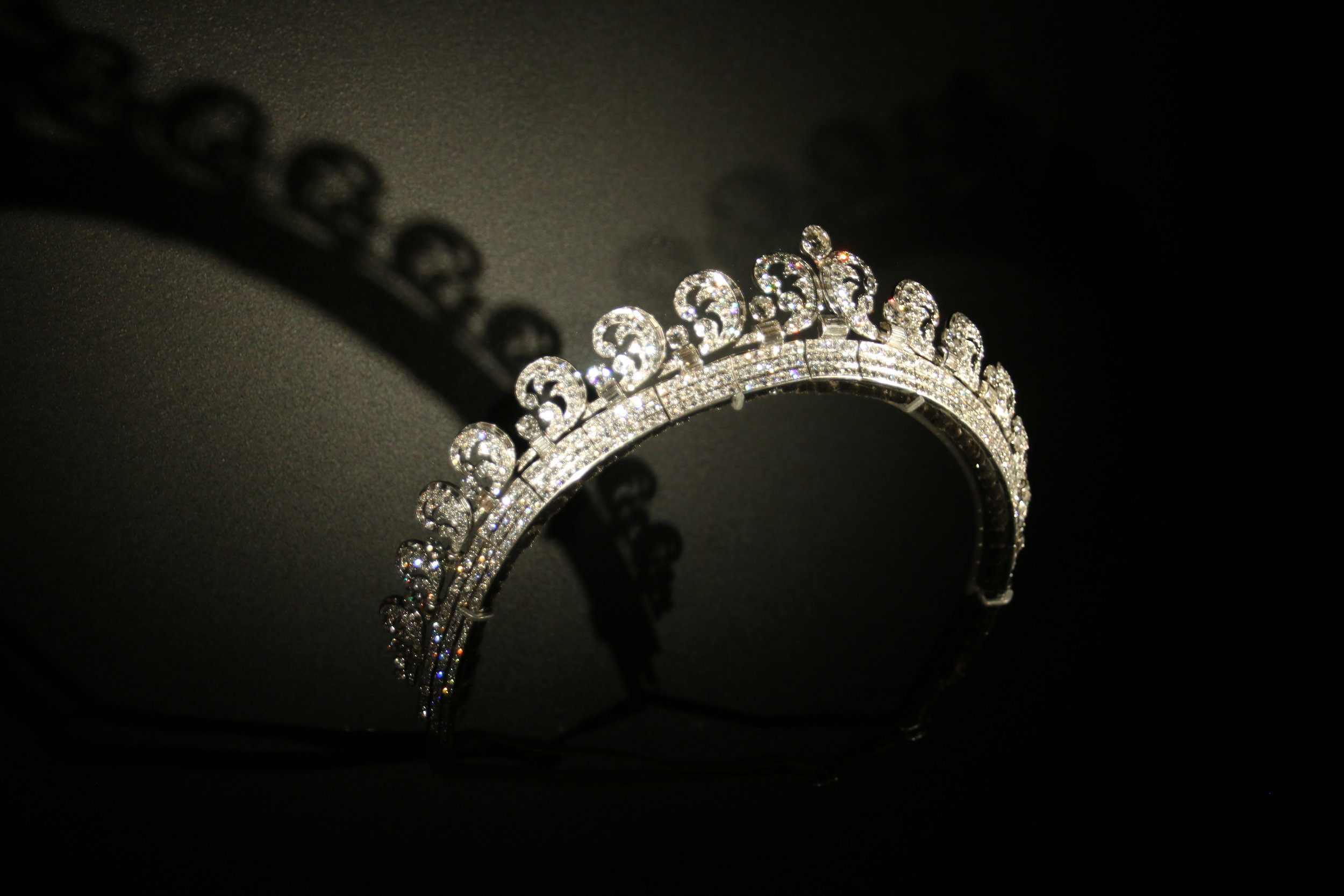 Catherine, Duchess of Cambridge crown from her wedding to Prince William, Duke of Cambridge
