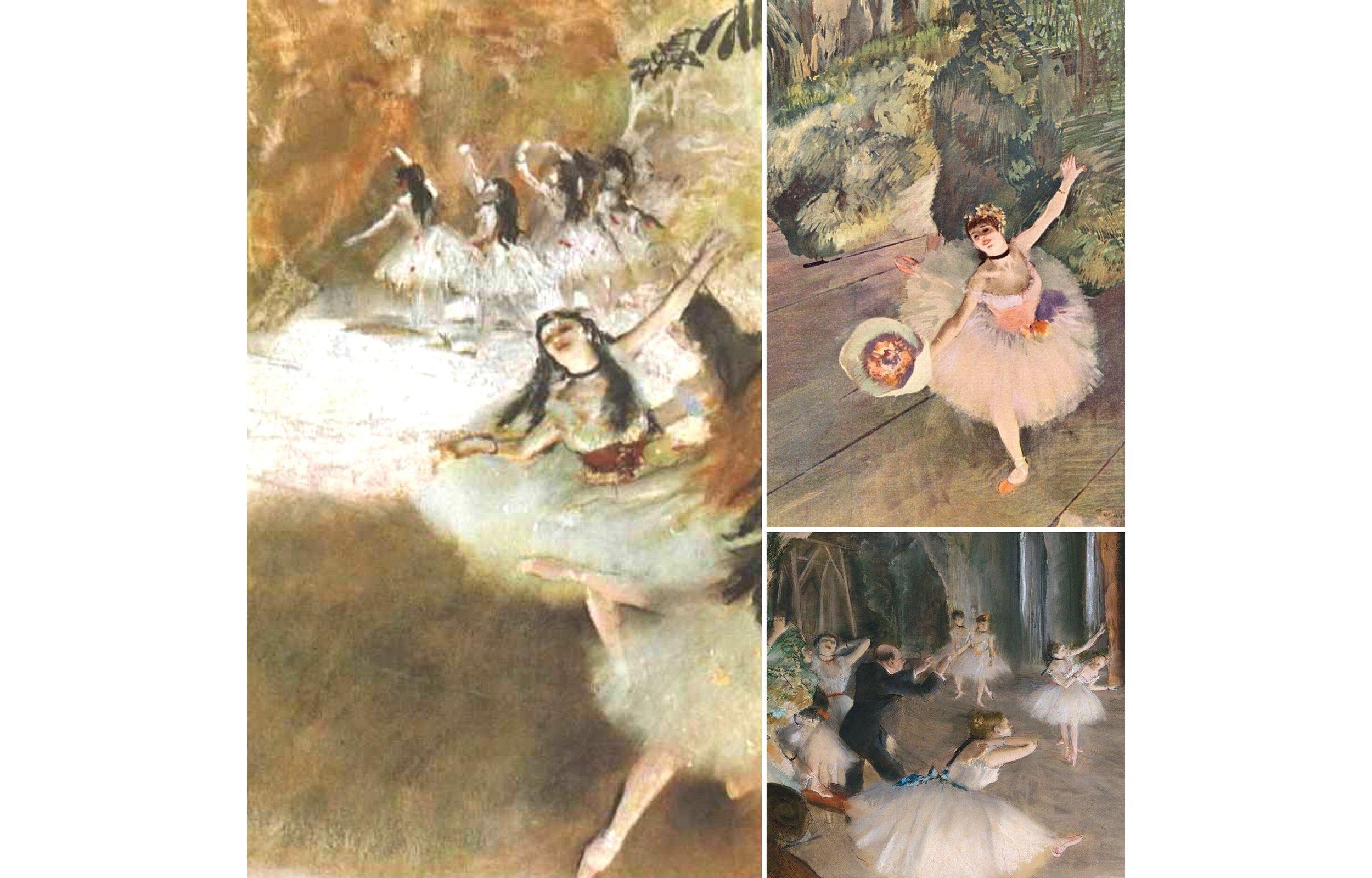 Paintings of Edgar Degas. Wikipedia Commons.