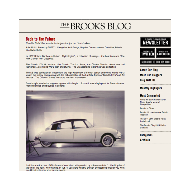 Brooks Blog  Back to the Future