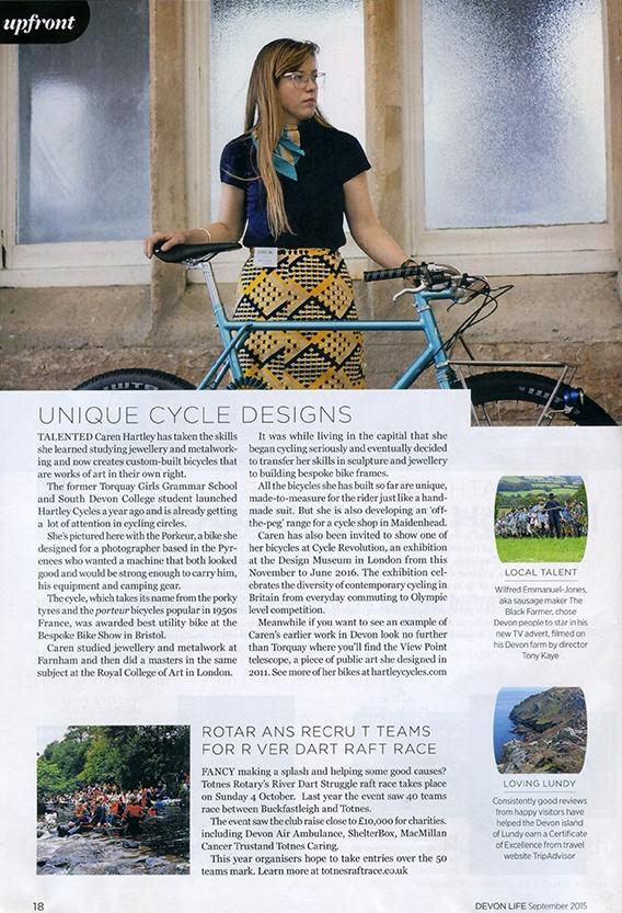 devon_life_magazine_sept_2015_bespoke_bicycles_hartley_london