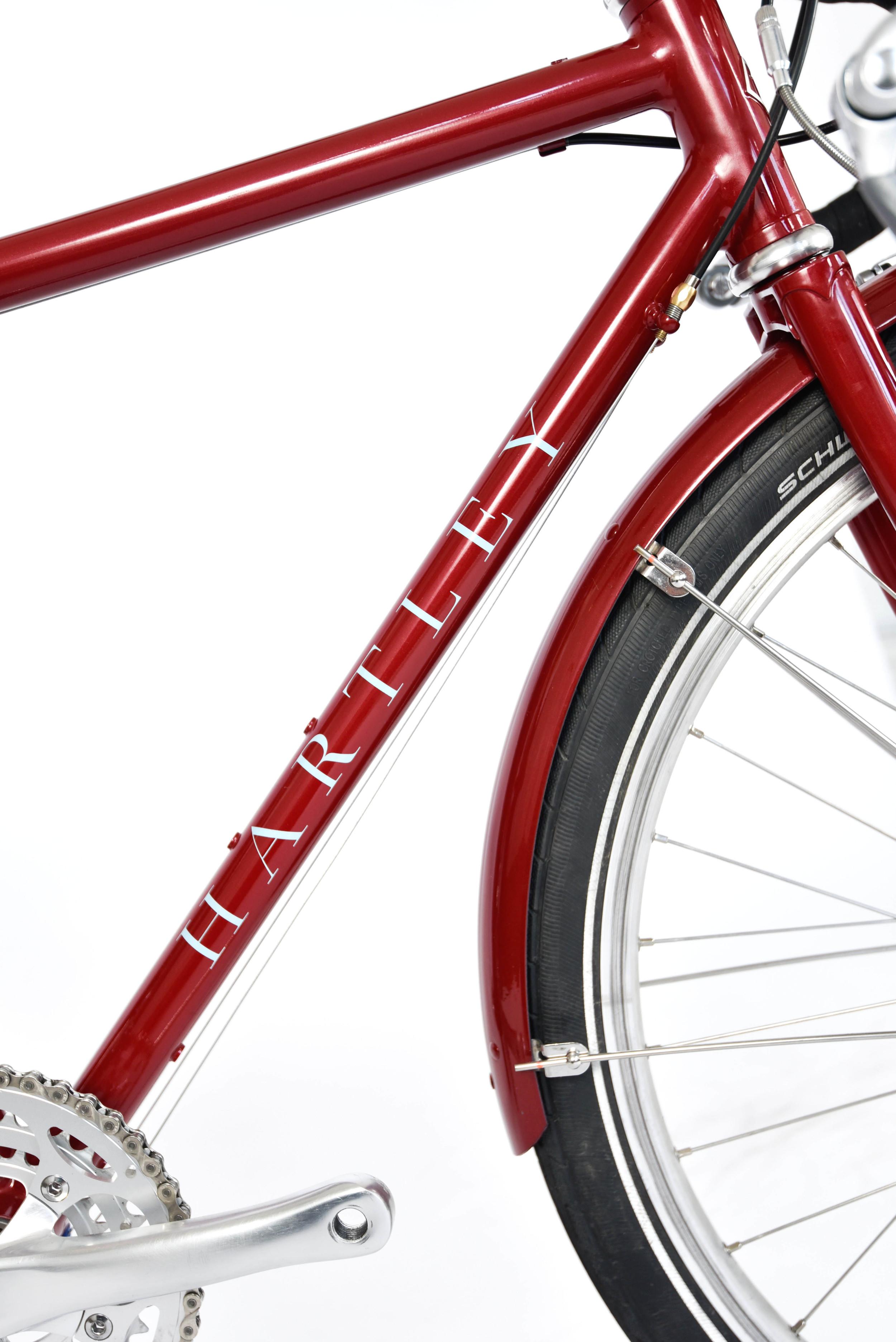 853 mini touring bike bespoke hartley london