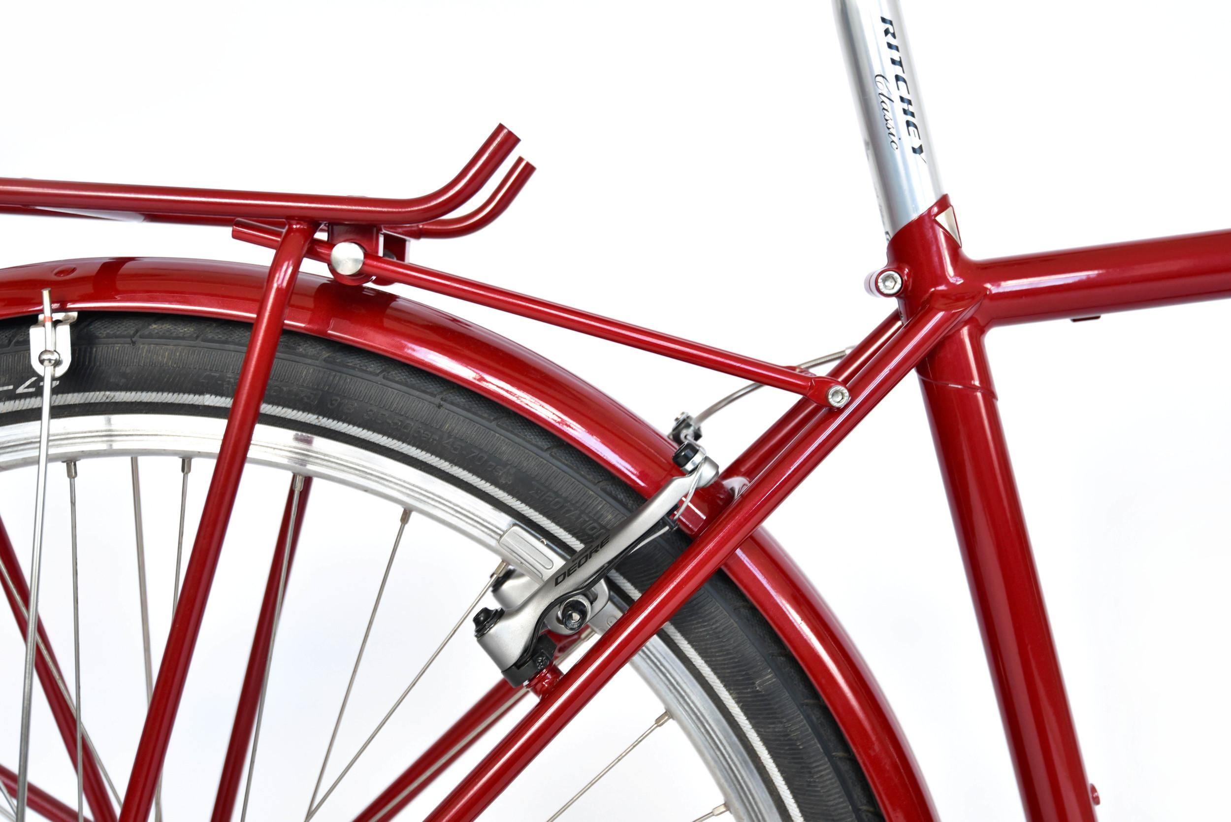 853 mini touring bike bespoke seat cluster