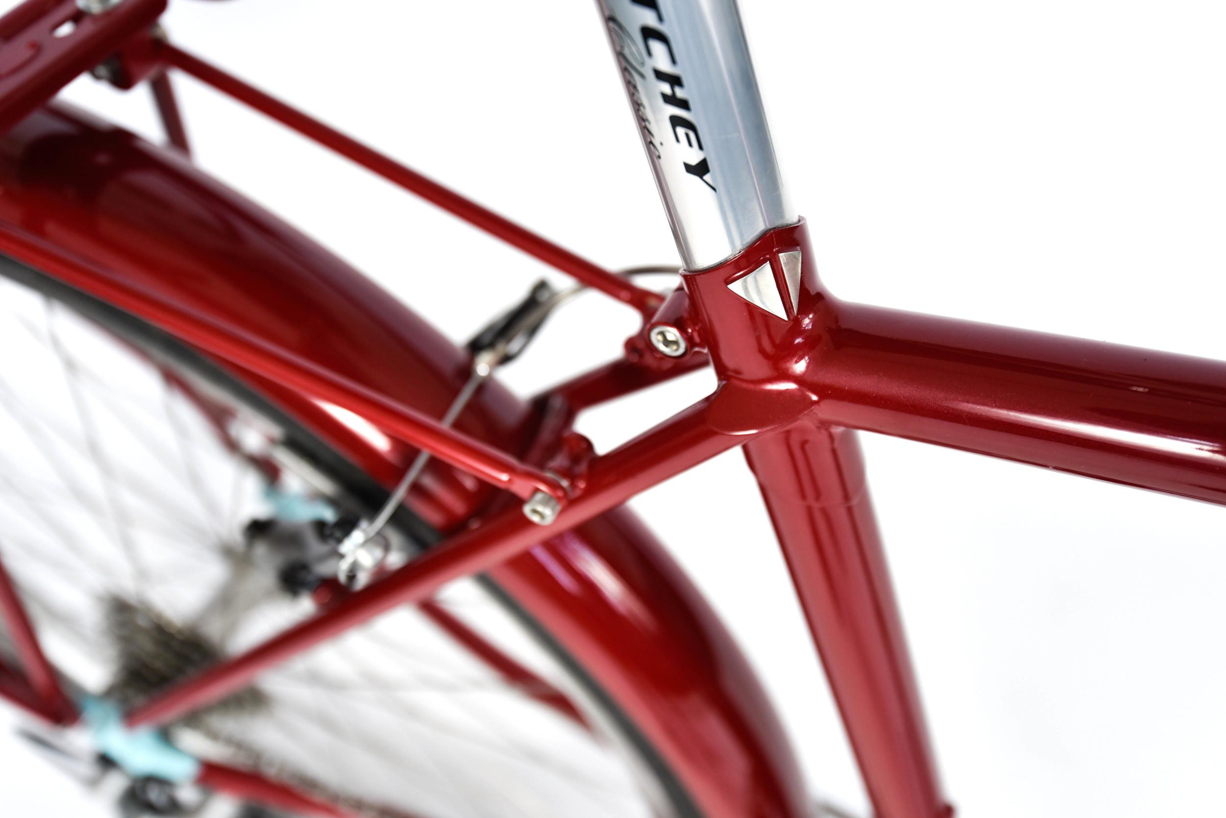 853 mini touring bike bespoke custom seat cluster detail
