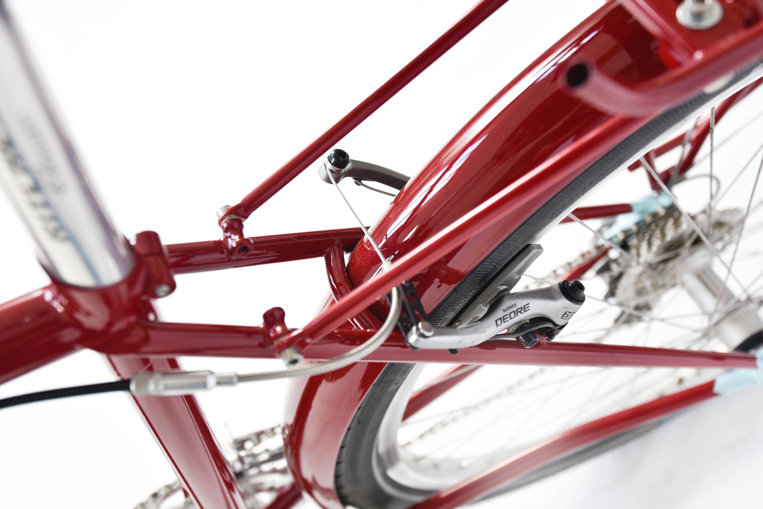 853 mini bespoke touring bike rack seatstays