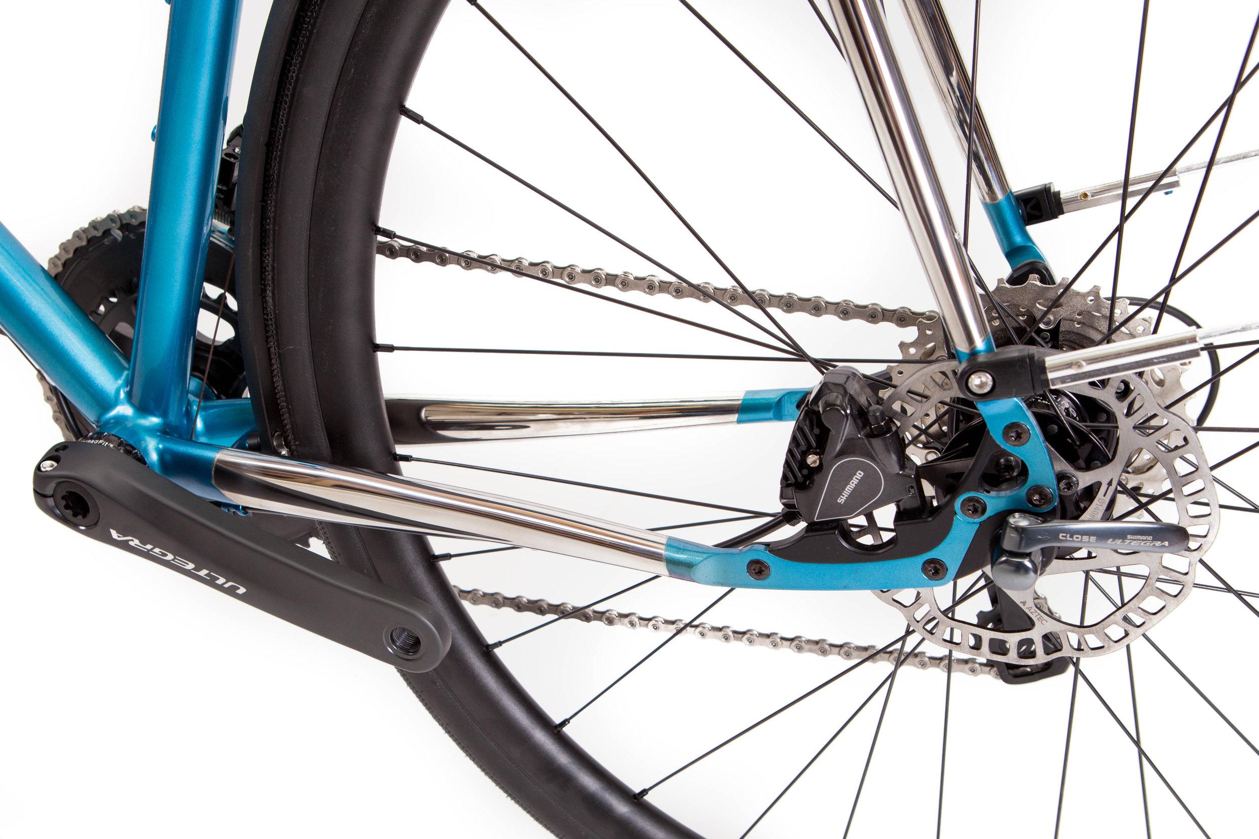 Jeremy Corbett Stainless Light Tourer polydrop:brake detail.jpg