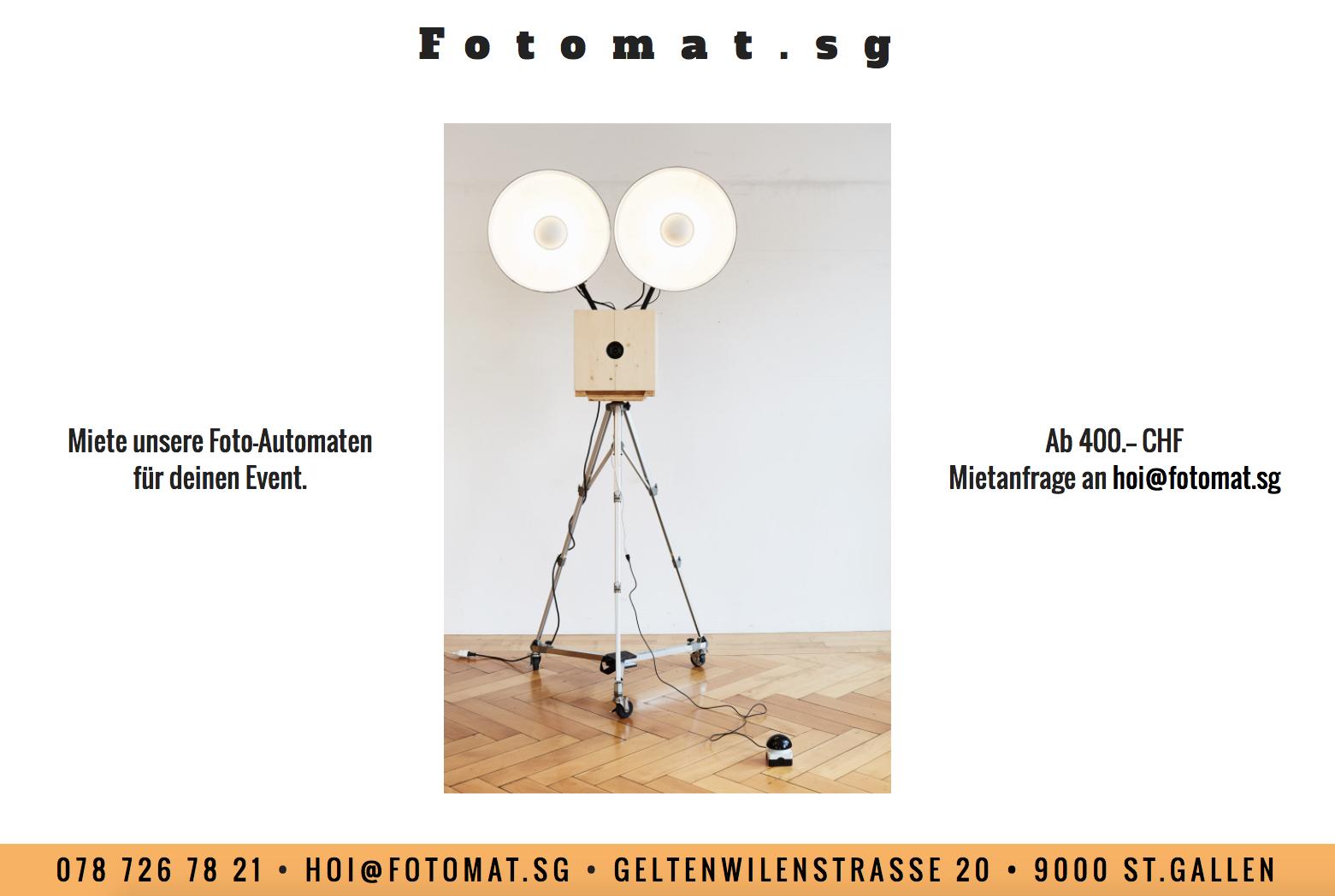 Fotoautomaten / Photobooth / Fotobox ->  www.fotomat.sg