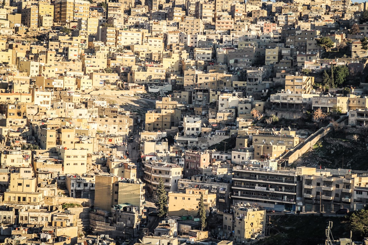Downtown Amman, Jordan
