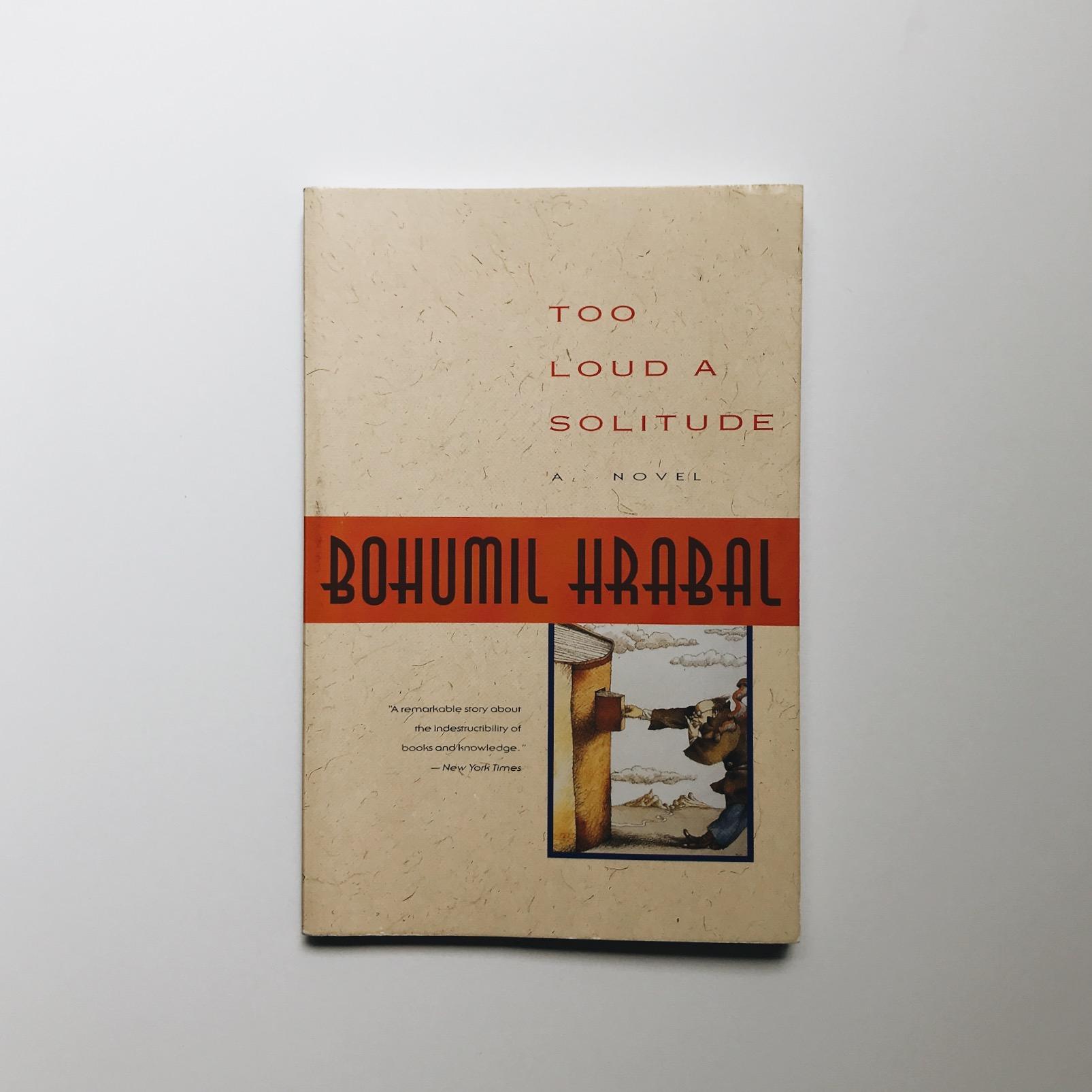 4 Too Loud a Solitude by Bohumil Hrabal.JPG