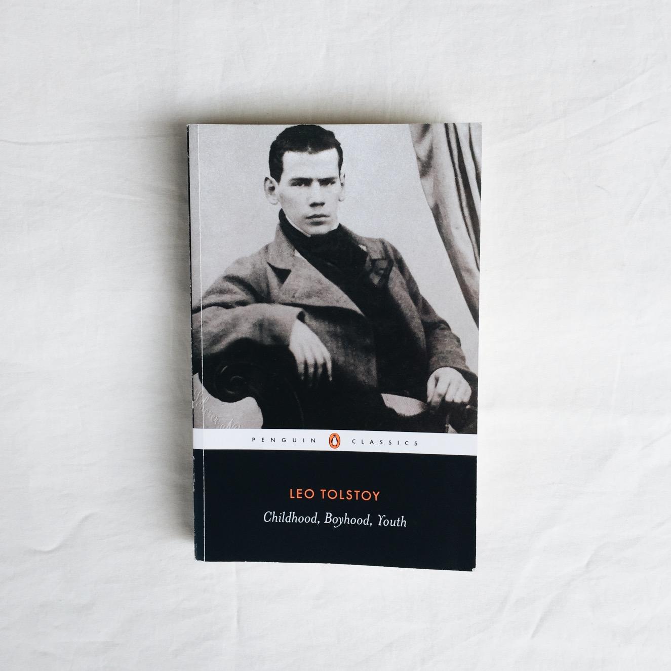23/ Childhood, Boyhood, Youth — Leo Tolstoy