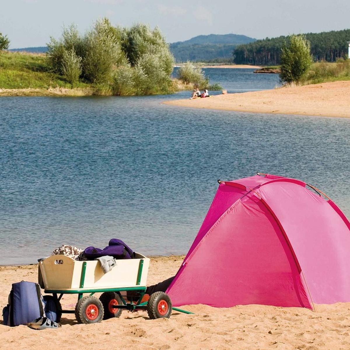 O Lago Brombachsee | Imagem de hopfenbiergut.de