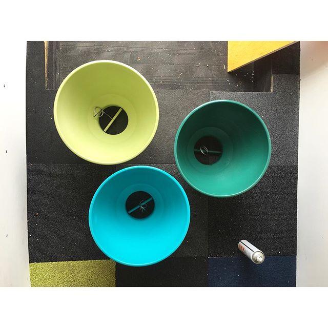 Colour Popping for #uberlondon 🚕🚕🚕 #offices  #colour #colourblocking #custommade #light #lighting #pendant #productdesign #britishmade #designer #midcentury #midcenturydesign #maker #salvage #upcycle #retro #vintage #interior #interiordesign #inspiration #trend #style #industrial #decor #designermaker