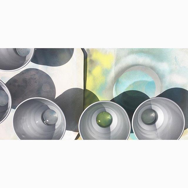 Sun and Silvers ✨✨✨ #colour #colourblocking #custommade #light #lighting #pendant #productdesign #britishmade #designer #midcentury #midcenturydesign #maker #salvage #upcycle #retro #vintage #interior #interiordesign #inspiration #trend #style #industrial #decor #designermaker #dulux