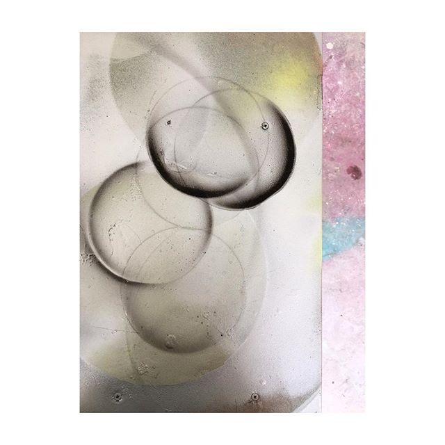 Spray spray spray  #colour #colourblocking #custommade #light #lighting #pendant #productdesign #britishmade #designer #midcentury #midcenturydesign #maker #salvage #upcycle #retro #vintage #interior #interiordesign #inspiration #trend #style #industrial #decor #designermaker