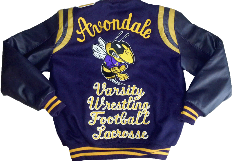AvondaleVarsityJacketWrestlingFootball-Lacrosse-ChainstitchLetteringoutlinedinWhite-GetCustomized-wb.png