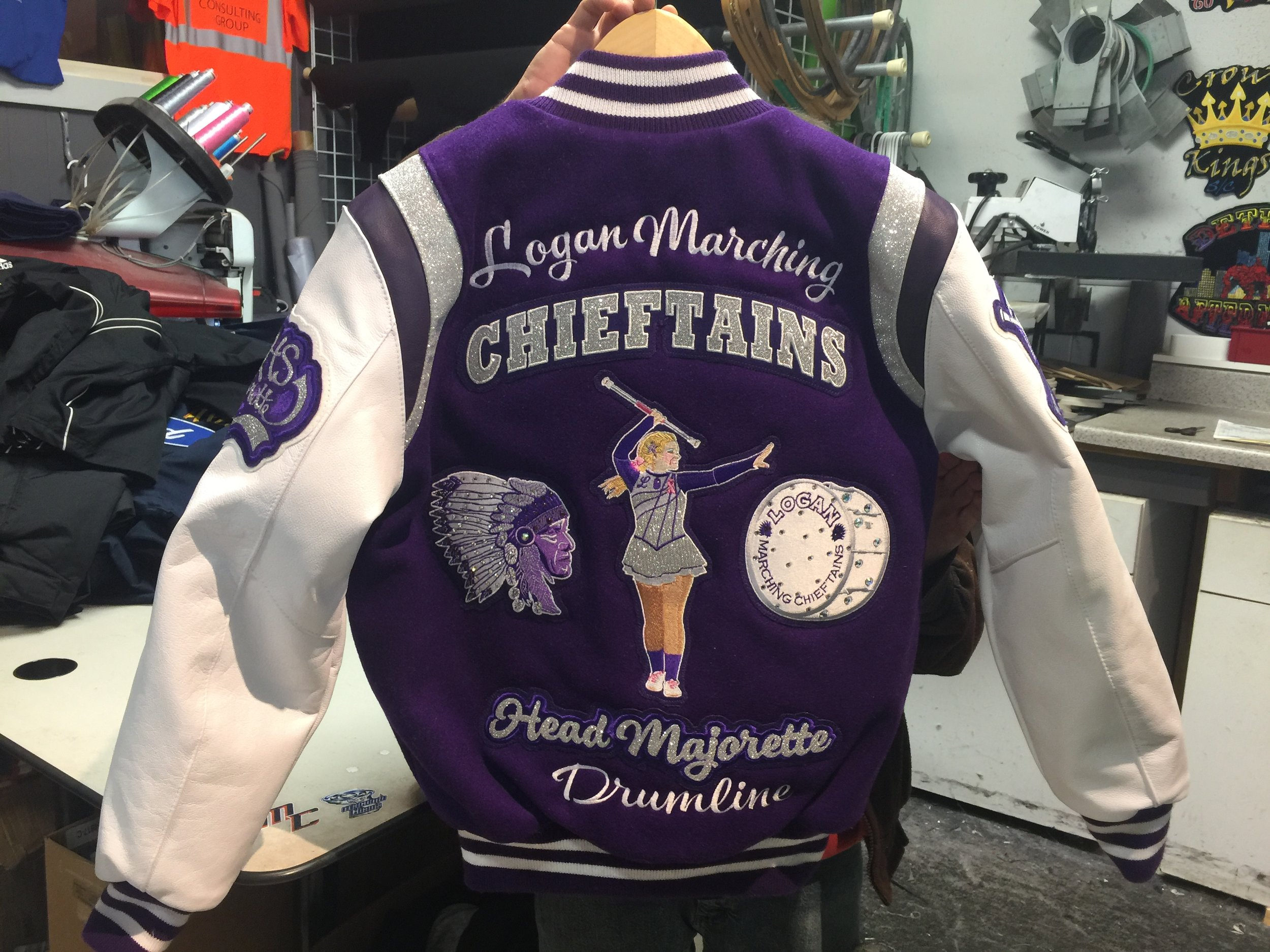 Shipped this amazing jacket to Logan OH.  The whole order was done over the phone, and email, and we never met the customers in person.