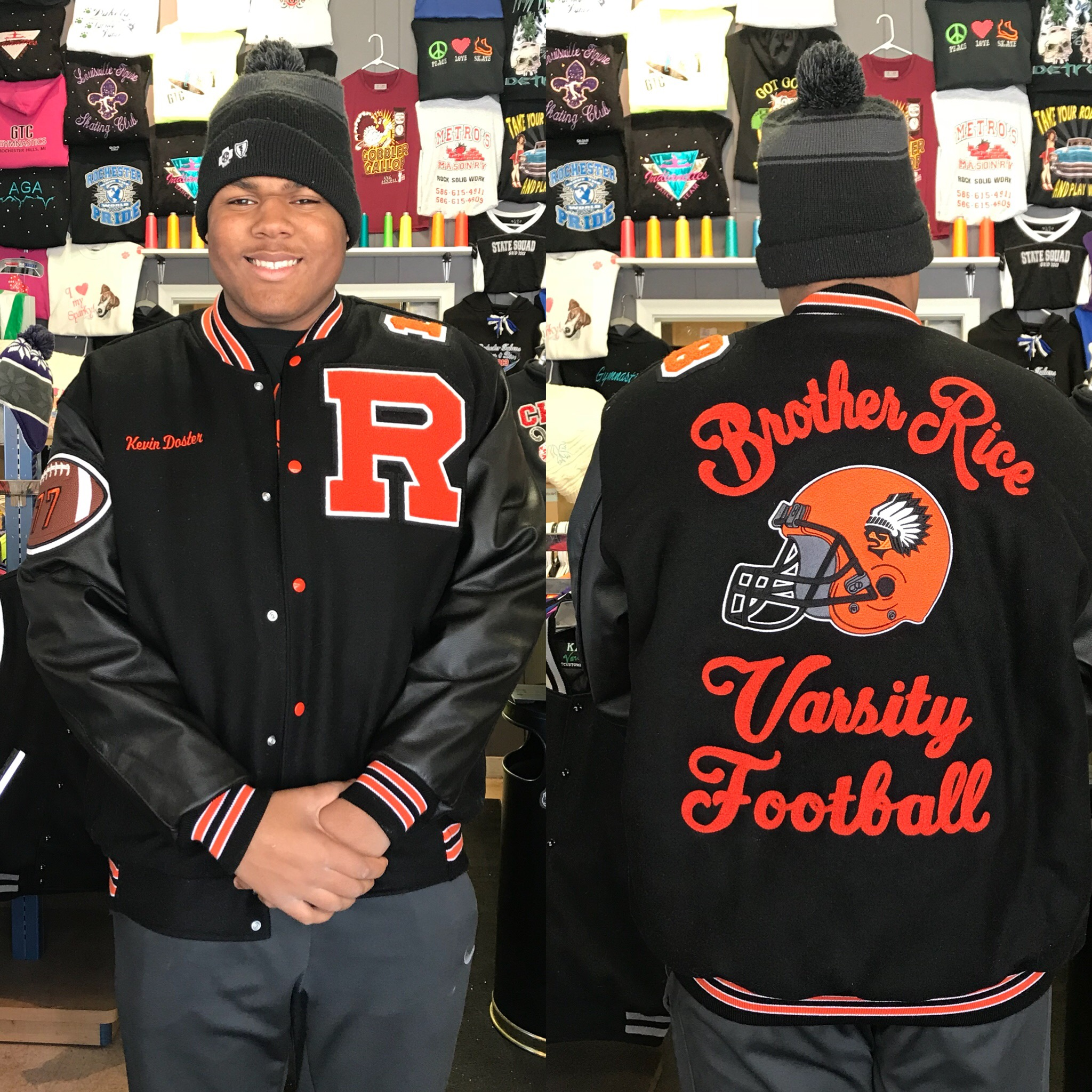 Brother Rice 3XL Jacket