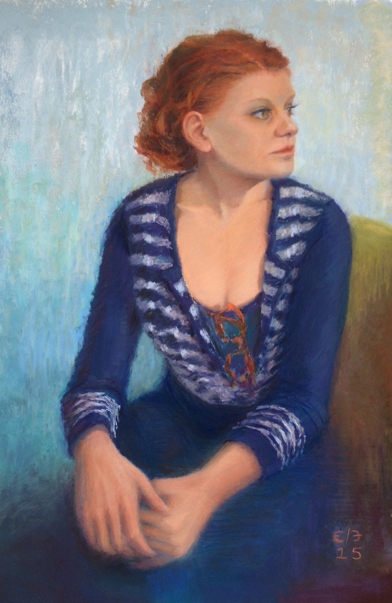 The Comedienne (2015) [Private Collection]